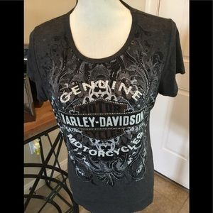 Harley-Davidson Scoop Neck Tee